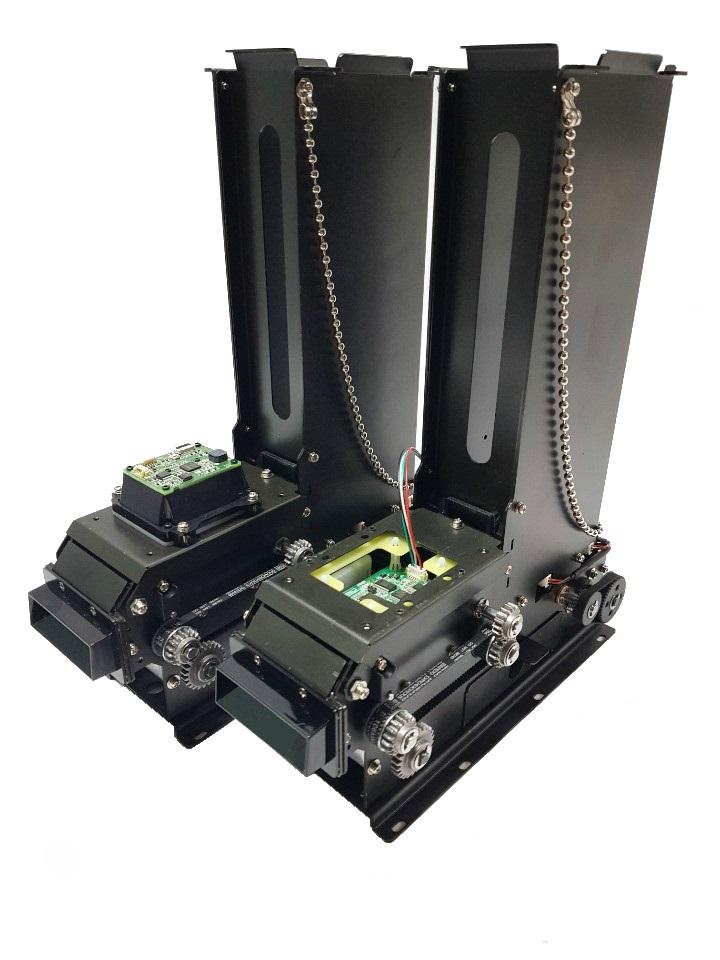 Máy phát hành thẻ Finger Type với bộ mã hóa RF hoặc đầu đọc mã vạch Kytronics BHM-2900