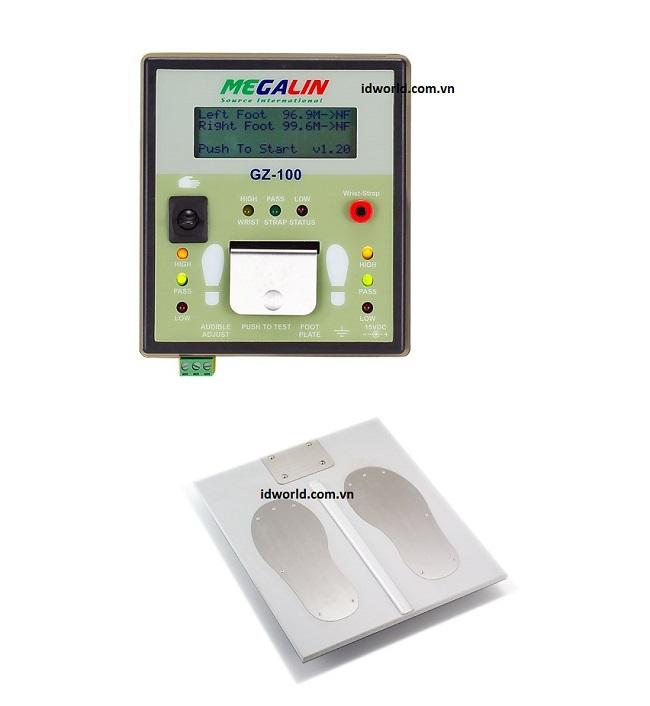 Bộ kiểm tra ESD kỹ thuật số GZ-100 với màn hình LCD