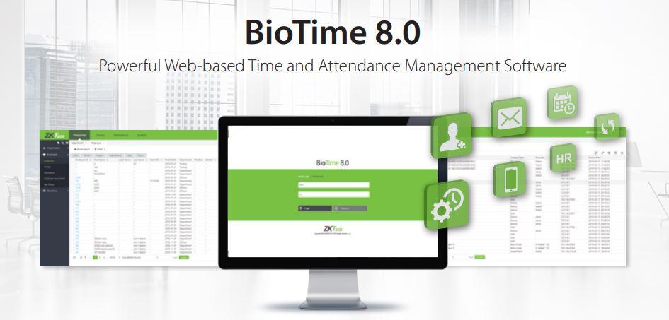 Phần mềm ZK BioTime 8.0 tại Việt Nam