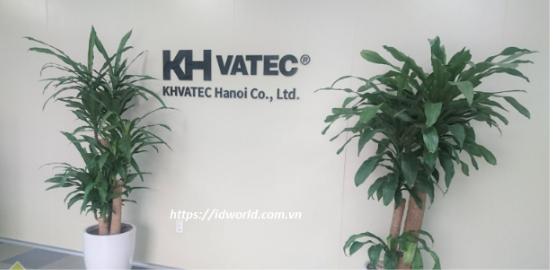 Lắp đặt cổng phân làn cho nhà máy KH Vatec KCN Quế Võ 1 Bắc Ninh