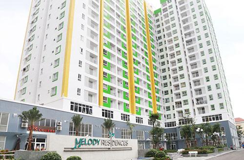 Kiểm soát thang máy phân tầng cho chung cư Melody Tân Phú