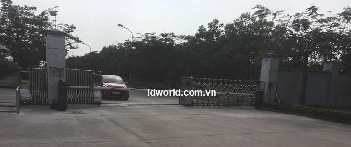 Lắp đặt Barrier tự động BFT GIOTTO  BT A60S U cho nhiệt điện Quảng Ninh