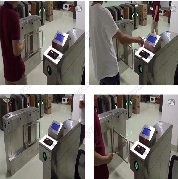 Chấm công kiểm soát cửa - vé ra vào bằng mã vạch QR Code tự động