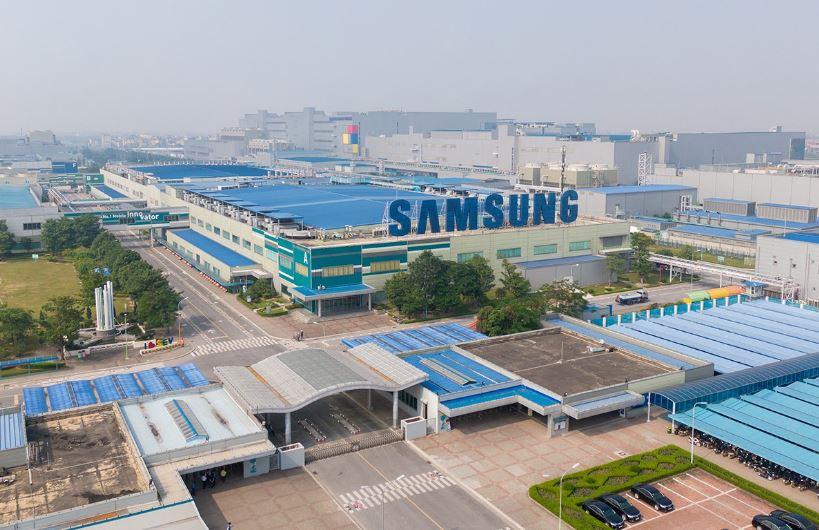 Lắp đặt cổng an ninh kiểm soát ra vào kết hợp công cho Samsung Bắc Ninh