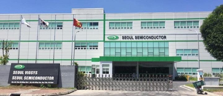 Lắp đặt cổng tripod kiểm soát ra vào chấm công tại Seoul Semi Đồng Văn Hà Nam