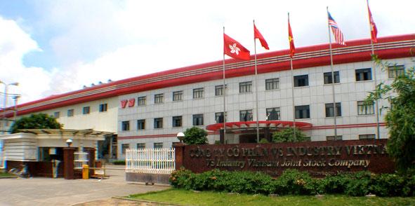 Lắp đặt kiểm soát lối vào cho công nhận tại VS Industry Bắc Ninh