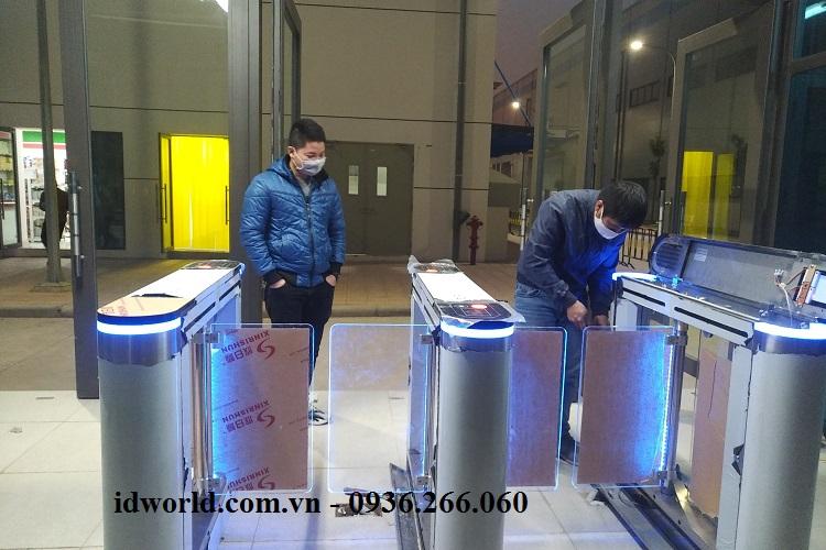 Lắp đặt Swing barrier tại khu công nghiệp Quang Châu Bắc Giang
